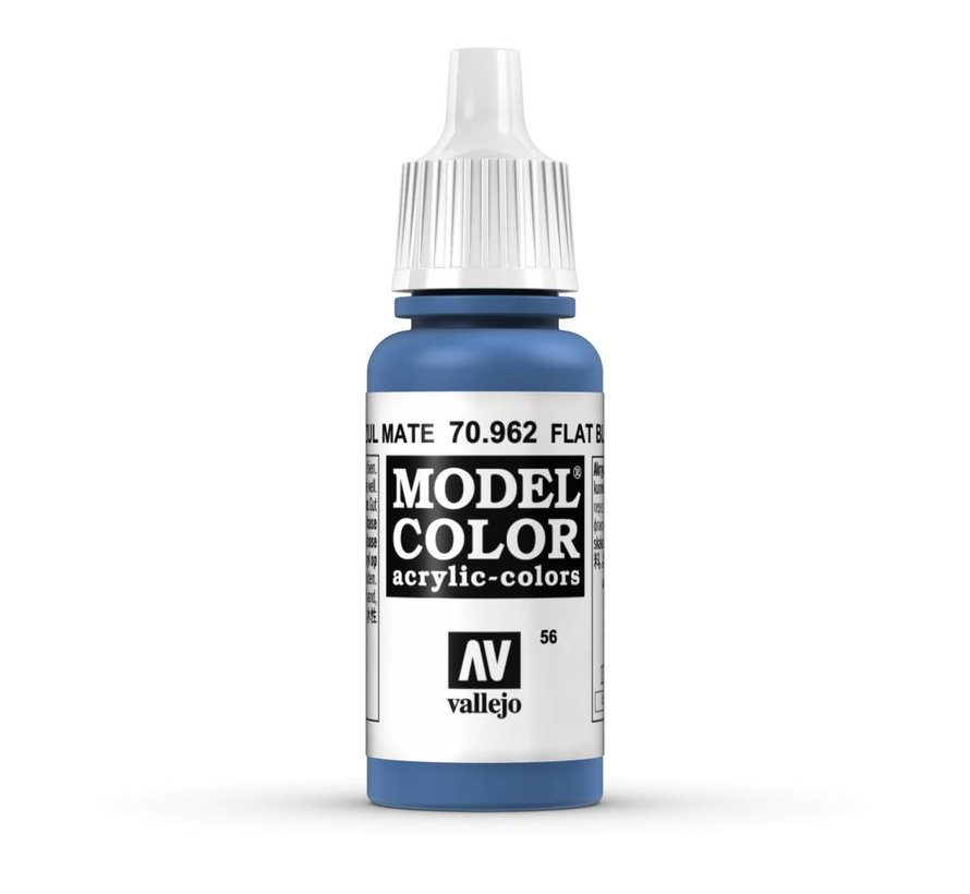 Model Color Flat Blue -17ml -70962