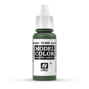 Vallejo Model Color Flat Green -17ml -70968