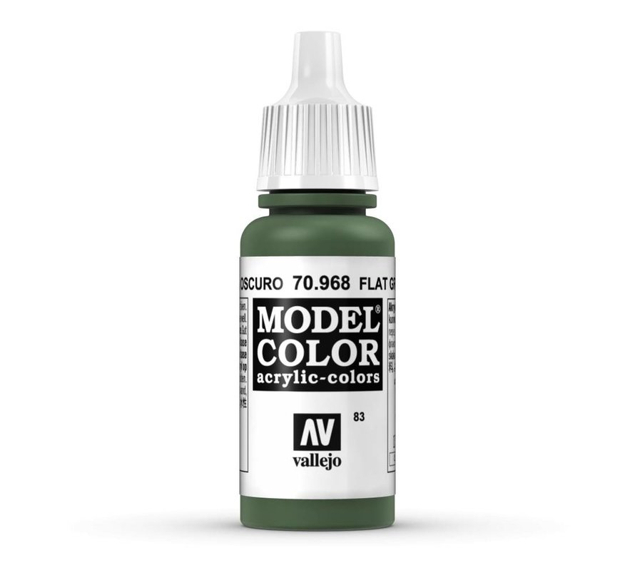 Model Color Flat Green -17ml -70968