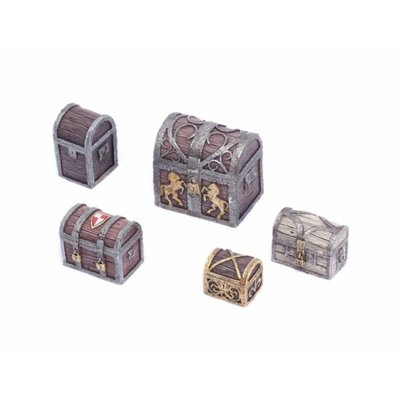 Tabletop-Art Travel Chest and Boxes set 1 - TTA601082