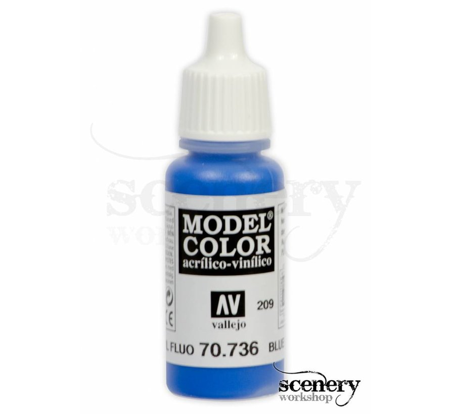 ModelColor Blue Fluo - 17ml - 70736