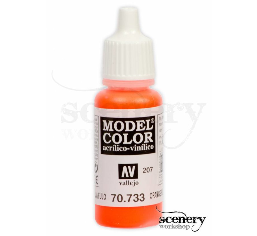 Model Color Orange fluo - 17ml - 70733