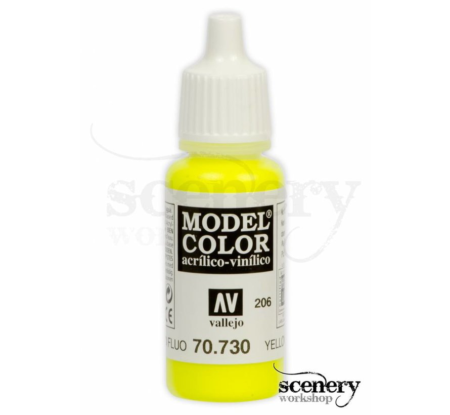 Model Color Yellow Fluo - 17ml - 70730