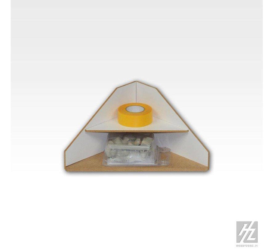 Ending Corner Shelves Module - OM12