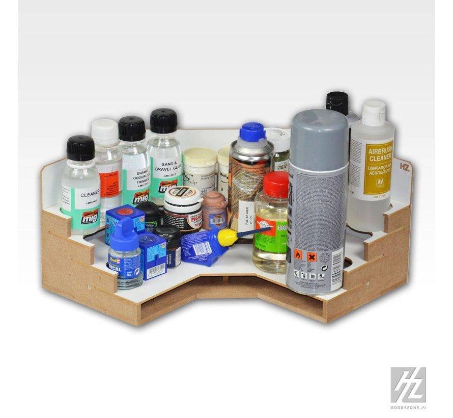 Corner Bottles Module - OM06u