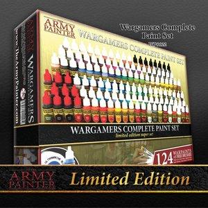 The Army Painter Complete Warpaints Set 2017 Limited Edition - 124 kleuren - 17ml - WP8022