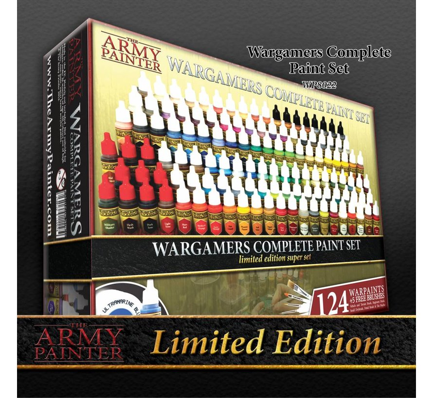 Complete Warpaints Set 2017 Limited Edition - 124 kleuren - 17ml - WP8022