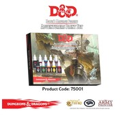 The Army Painter D&D Adventurers Paint Set - 10 kleuren - 12 ml - 75001