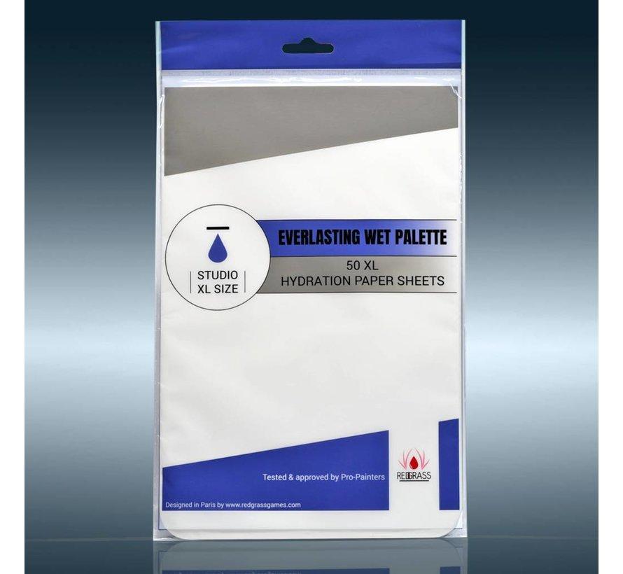 Studio XL Everlasting Wet-Palette Hydration Paper - 50x  - 20cm x 30cm