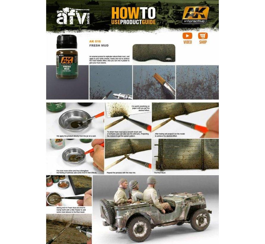 Fresh Mud Effects - AK Weathering Products - 35ml - AK-016