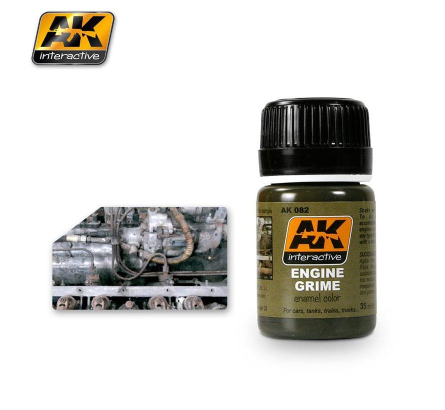 Engine Grime - AK Weathering - 35ml - AK-082