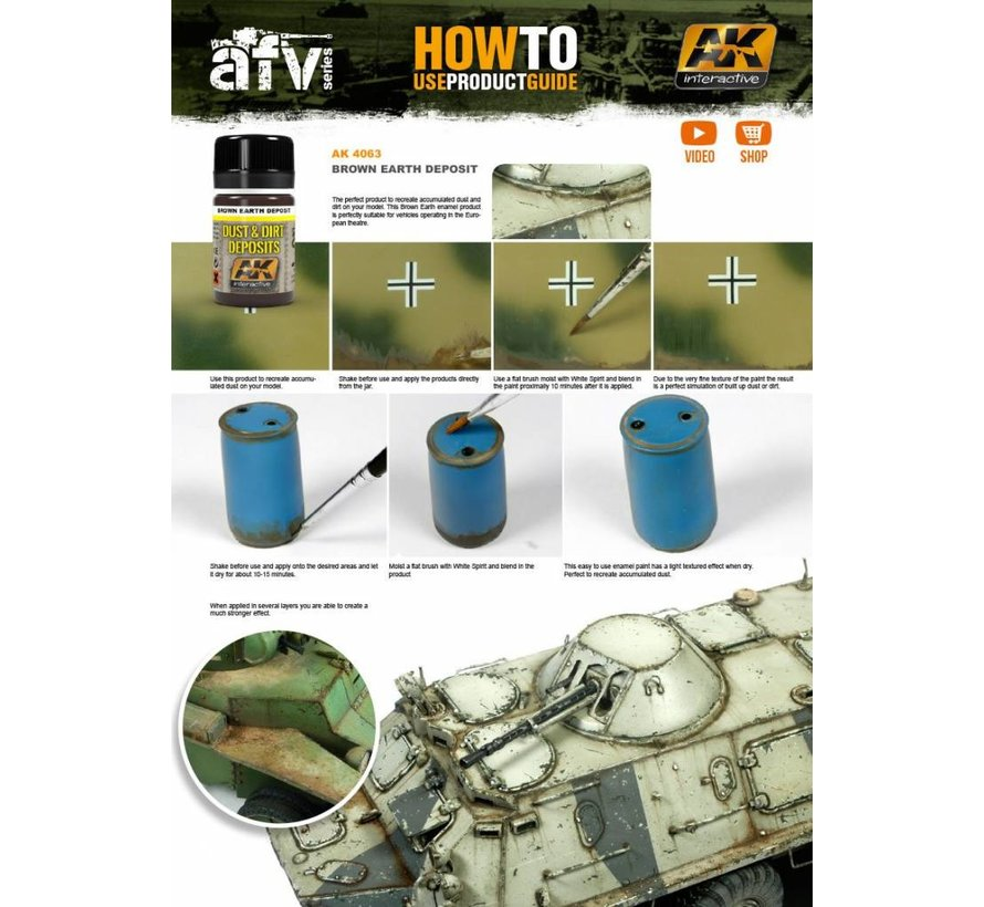 Brown Earth Deposit - Deposit Weathering - 35ml - AK 4063
