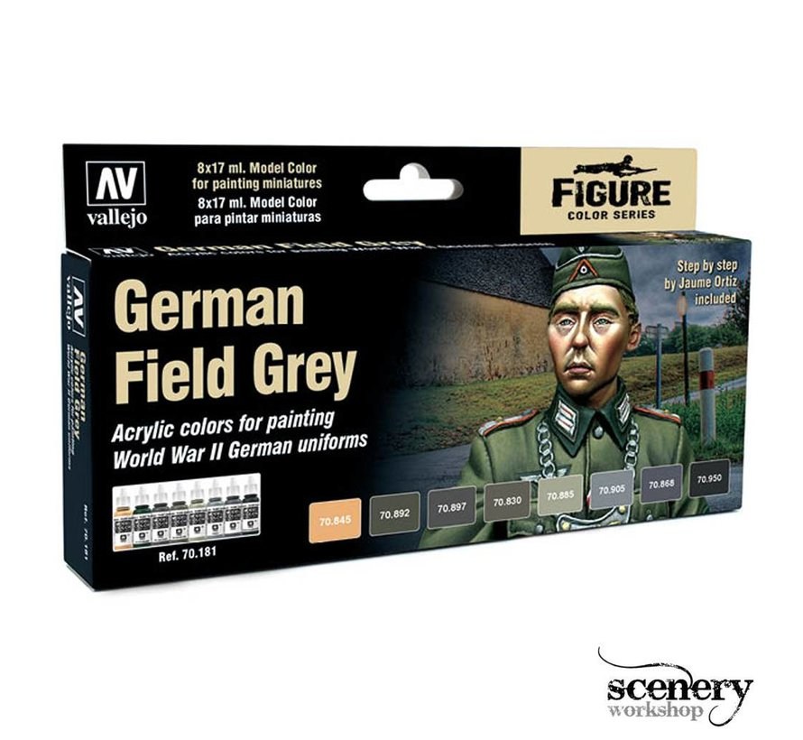 Model Color German Field Grey - 8 kleuren - 17ml - 70181