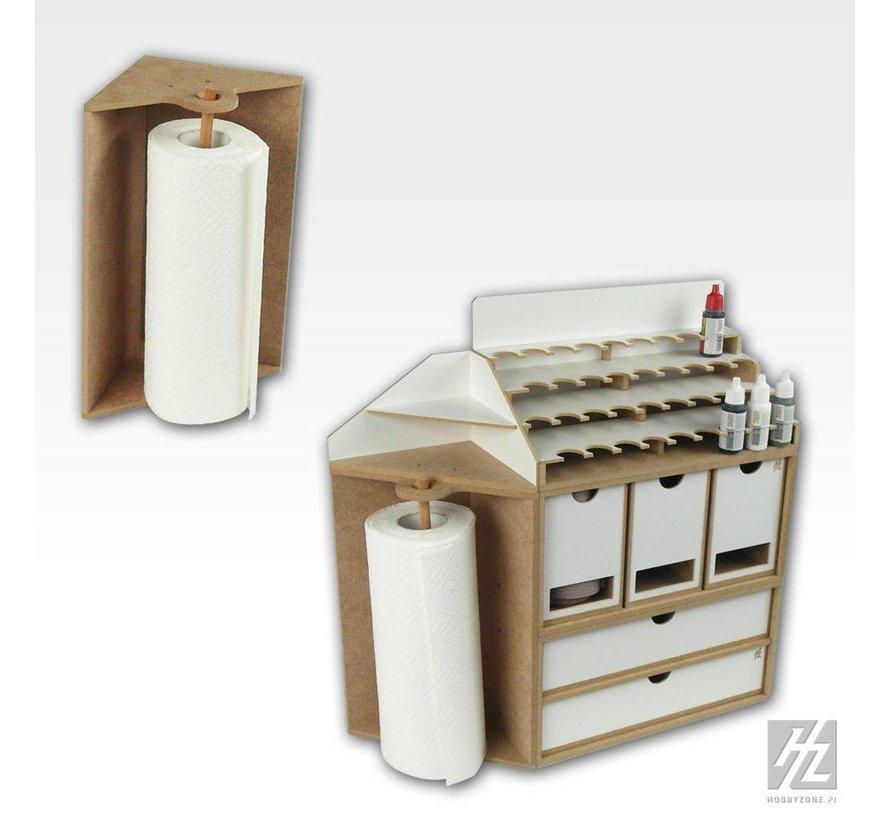 Corner Paper Towel Module - OM08b