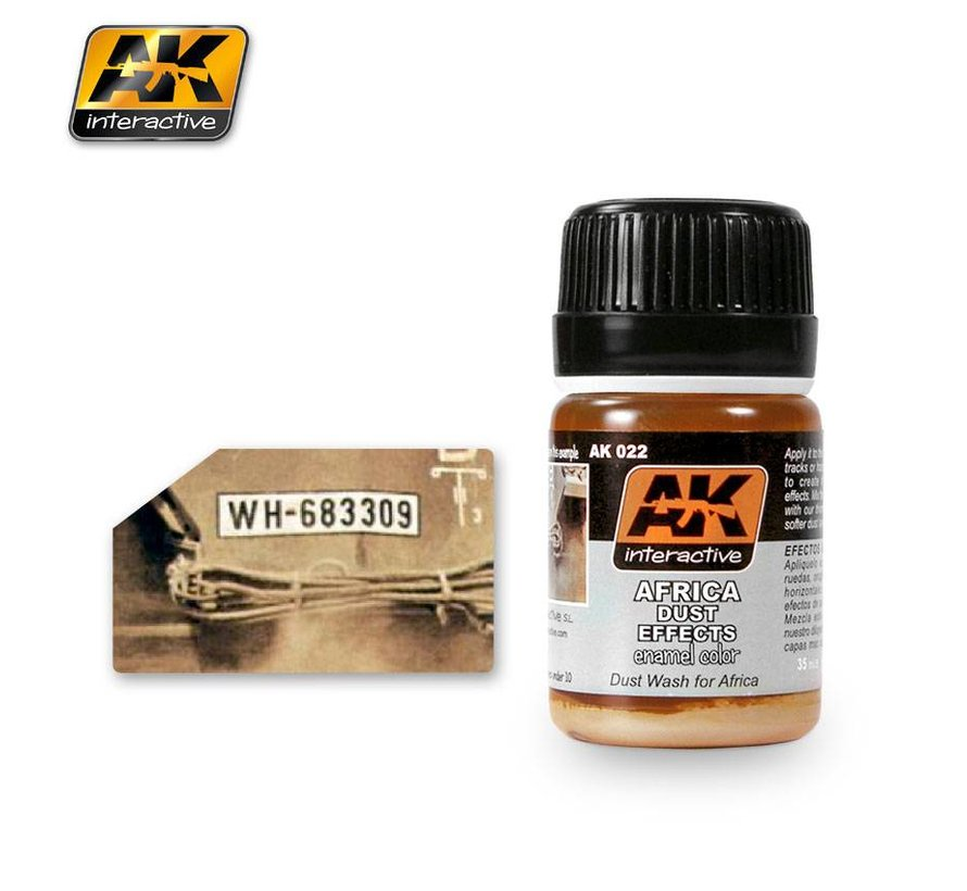 Africa Dust Effects - Nature Weathering - 35ml - AK022