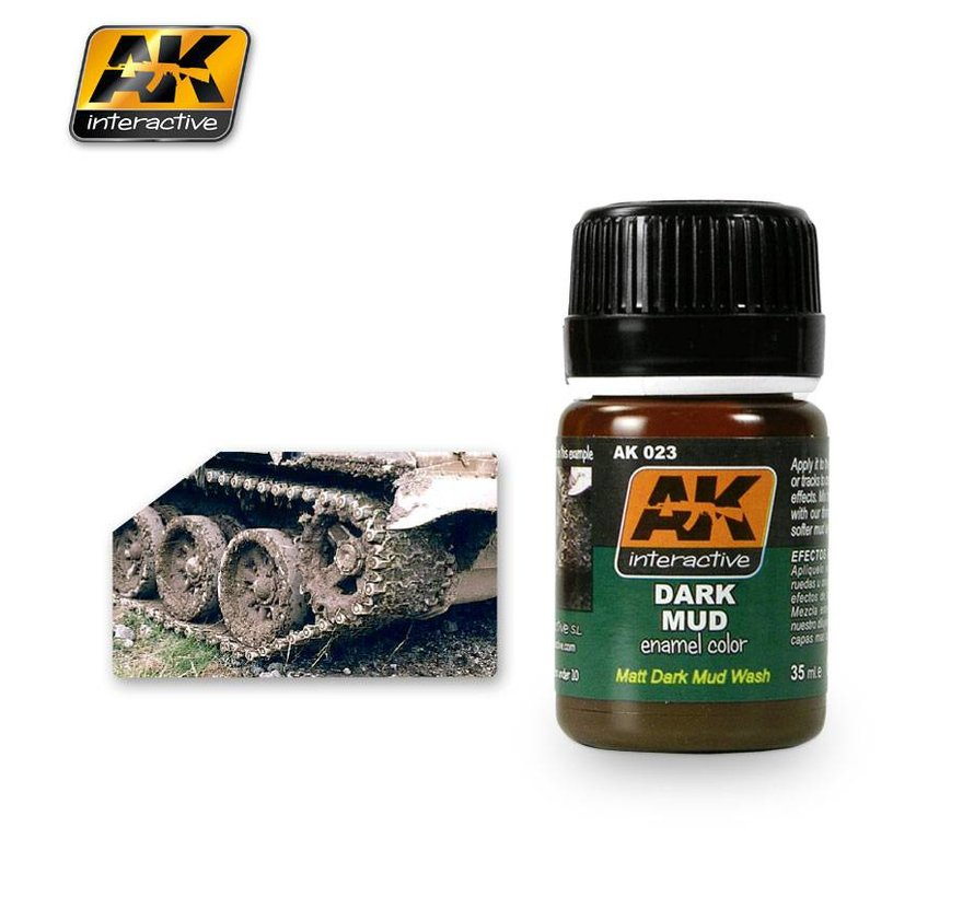 Dark Mud Effects - Nature Weathering - 35ml - AK-023