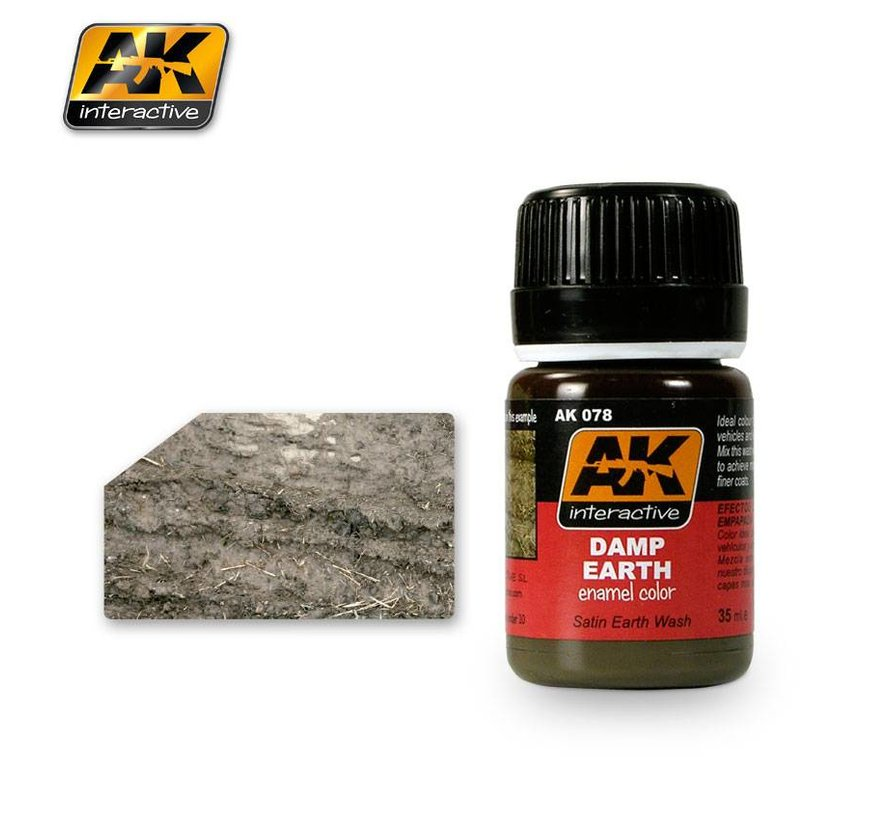 Damp Earth Effects - Nature Weathering - 35ml - AK-078