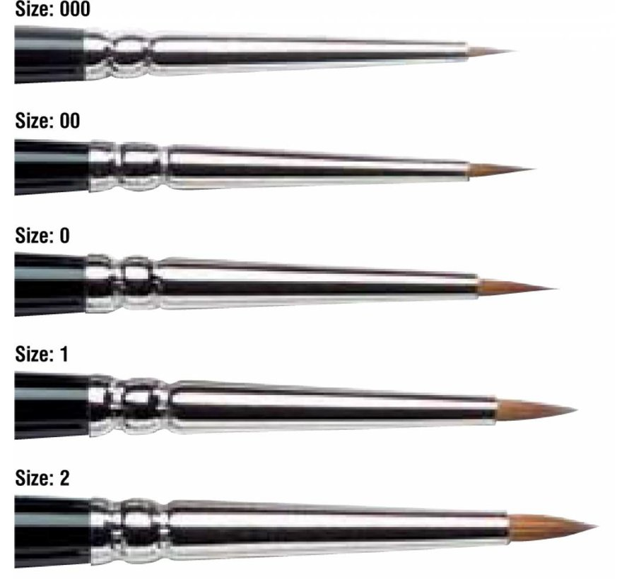 Series 7 miniature - Kolinsky 000 - 5012030