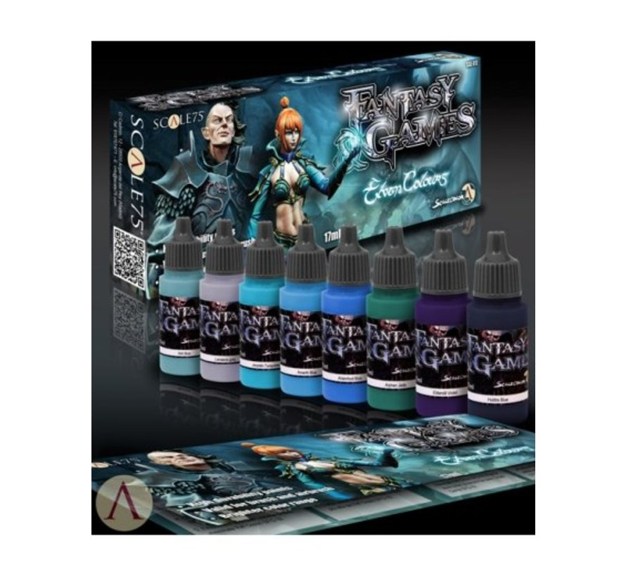 Elven Colours - Fantasy & Games - 8 kleuren - 17ml - SSE-017