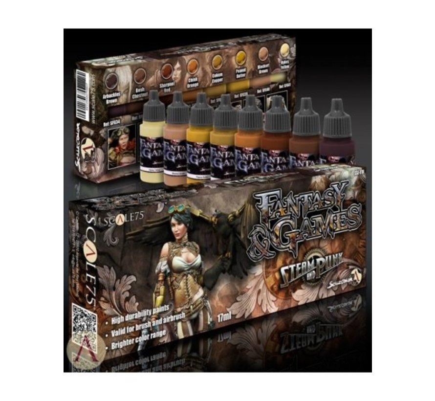 Steam and Punk - Fantasy & Games - 8 kleuren - 17ml - SSE-018