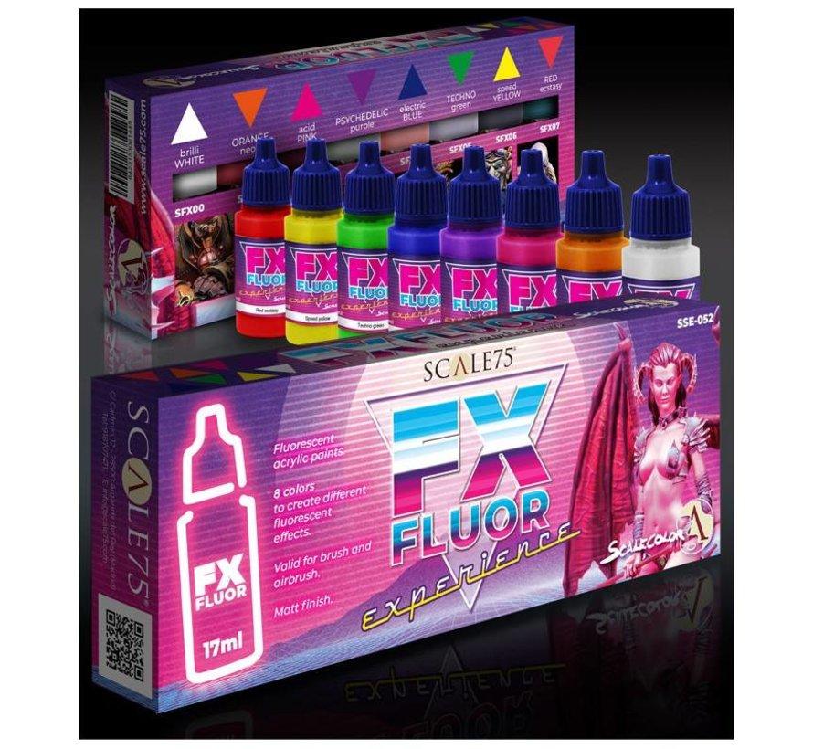 FX Fluor Experience - 8 kleuren - 17ml - SSE-052