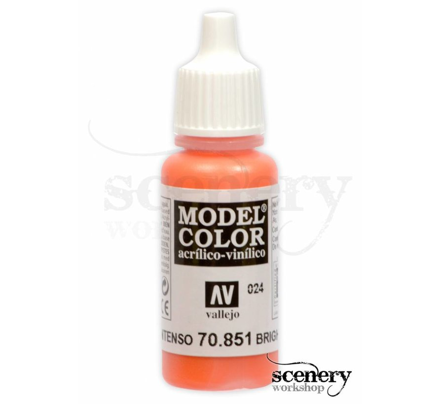 Model Color Bright Orange -17ml -70851