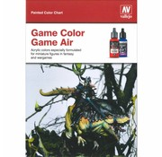 Vallejo Handpainted Color Card Game Color - CC972