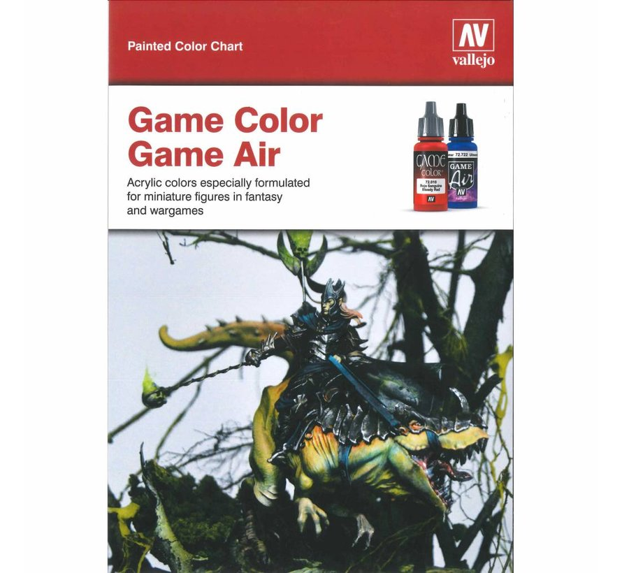 Handpainted Color Card Game Color - CC972
