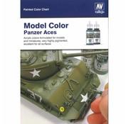 Vallejo Handpainted Color Card Model Color - CC970