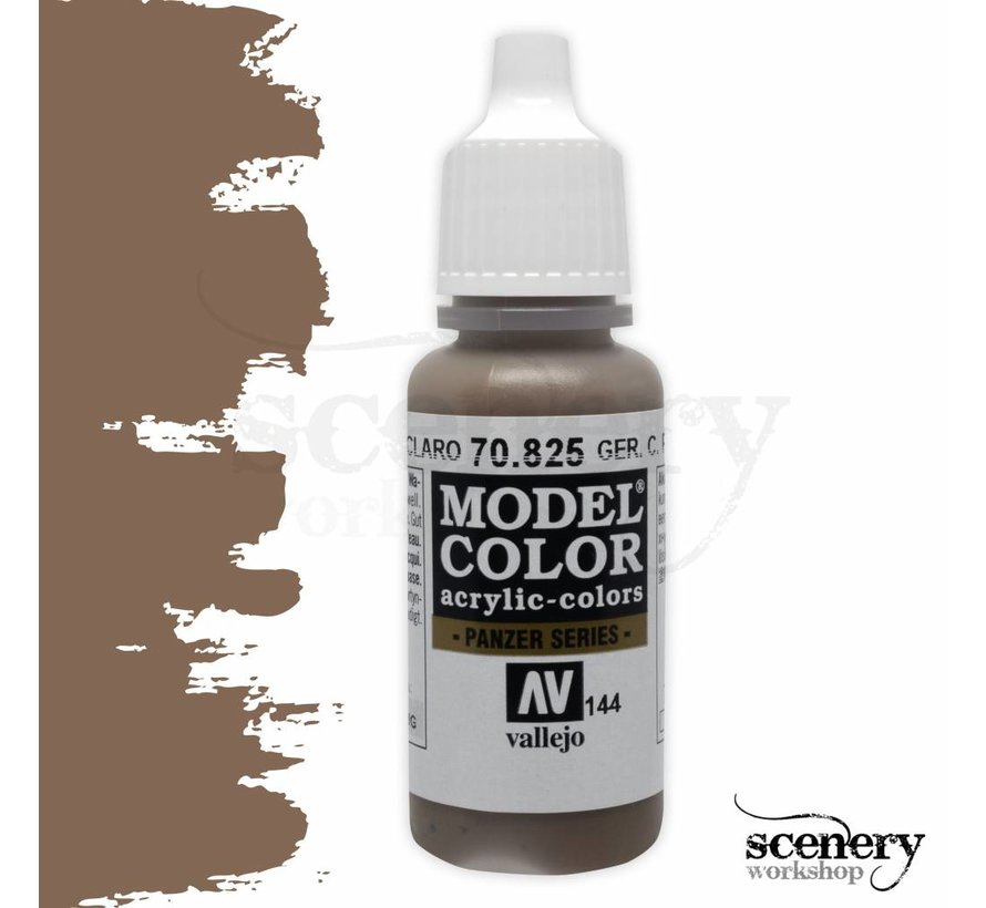 Model Color German Camouflage Pale Brown -17ml -70825