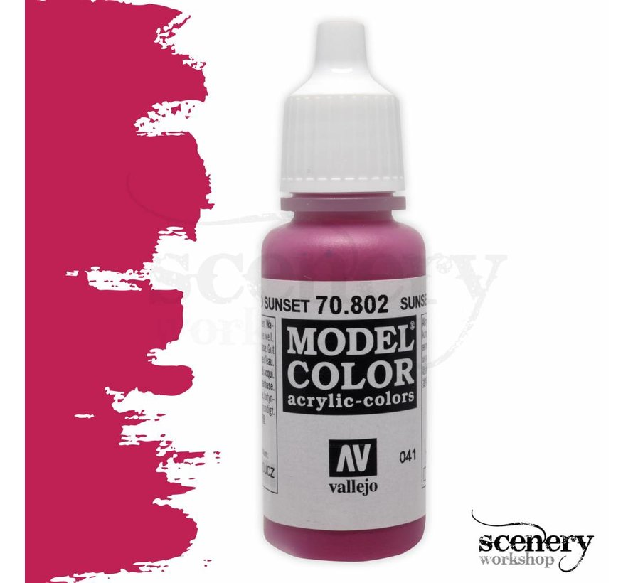 Model Color Sunset Red -17ml -70802
