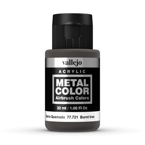 Vallejo Metal Color Burnt Iron - 32ml - 77721