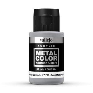 Vallejo Metal Color Semi Matte Aluminium - 32ml - 77716