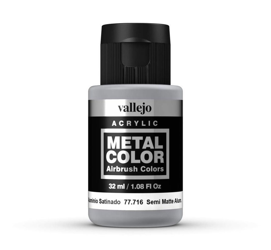 Metal Color Semi Matte Aluminium - 32ml - 77716