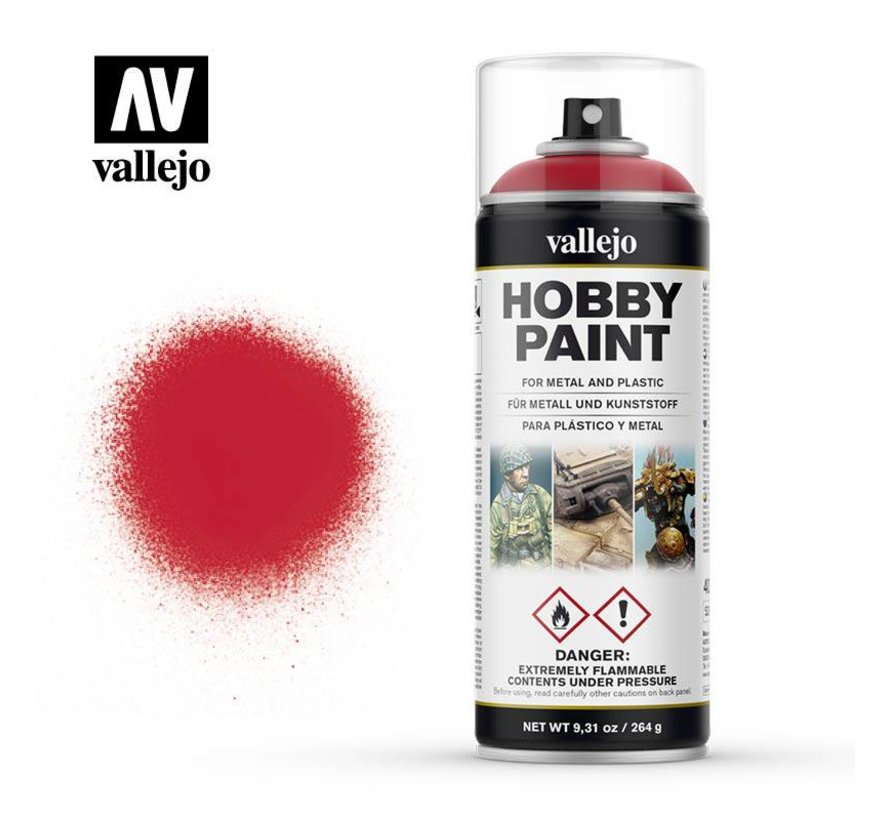 Hobby Paint Fantasy Bloody Red spuitbus - 400ml - 28023
