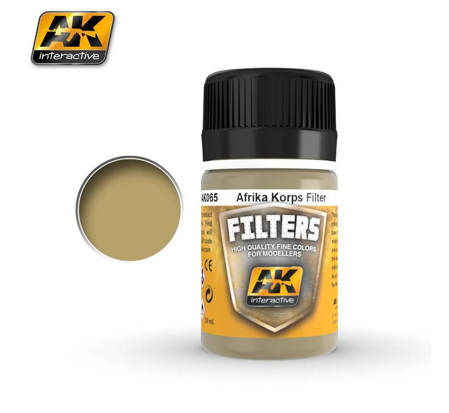 Filter For Afrika Korps Vehicles - Weathering Filter - 35ml - AK-065
