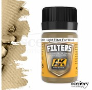 AK interactive Light Filter For Wood - Weathering Filter - 35ml - AK-261