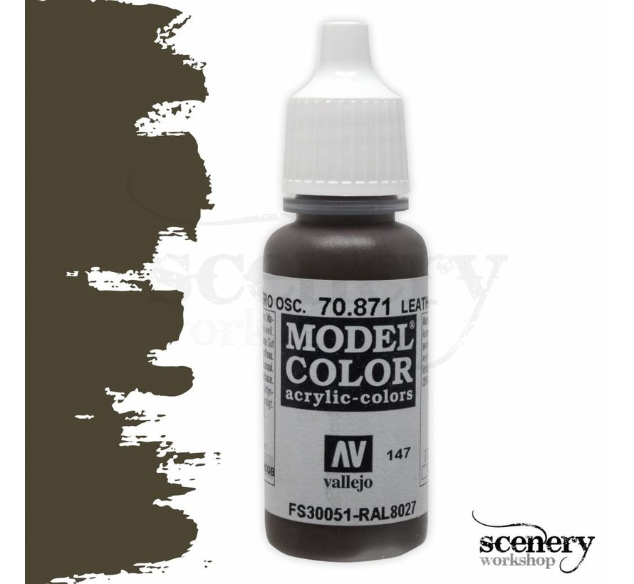 Model Color Leather Brown -17ml -70871