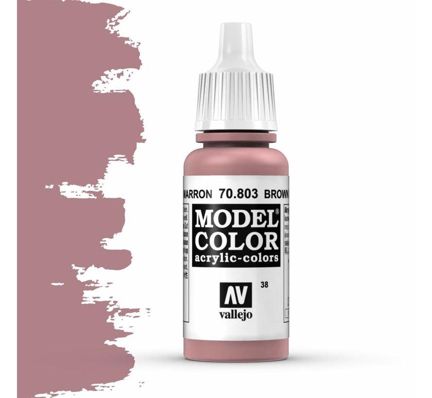 Model Color Brown Rose -17ml -70803