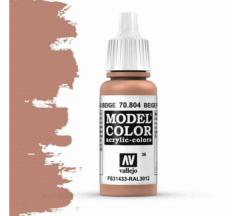 Model Color Beige Red -17ml -70804