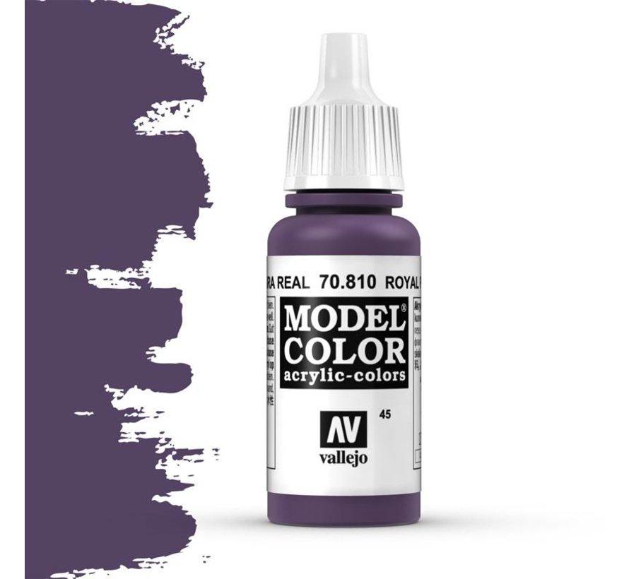 Model Color Royal Purple -17ml -70810