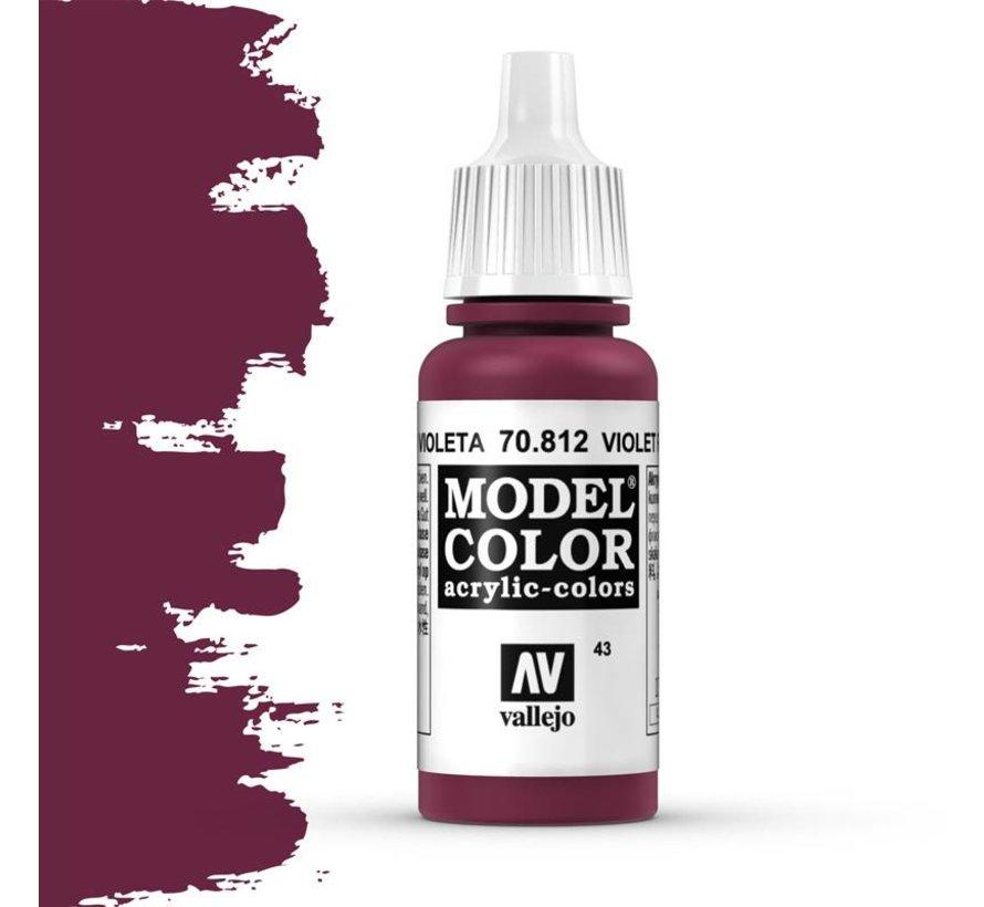 Model Color Violet Red -17ml -70812