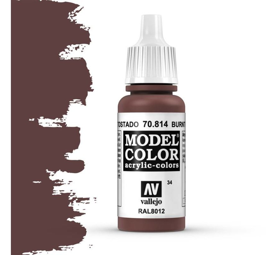 Model Color Burnt Red -17ml -70814
