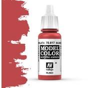 Vallejo Model Color Scarlet -17ml -70817
