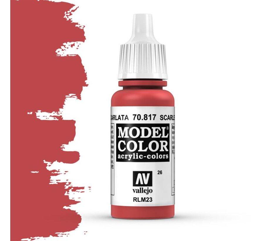Model Color Scarlet -17ml -70817