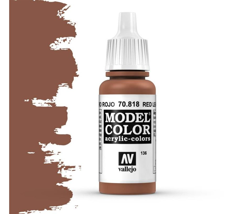 Model Color Red Leather -17ml -70818