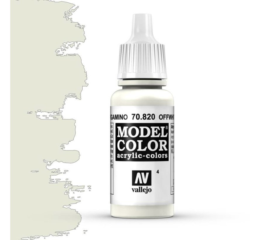 Model Color Off White -17ml -70820