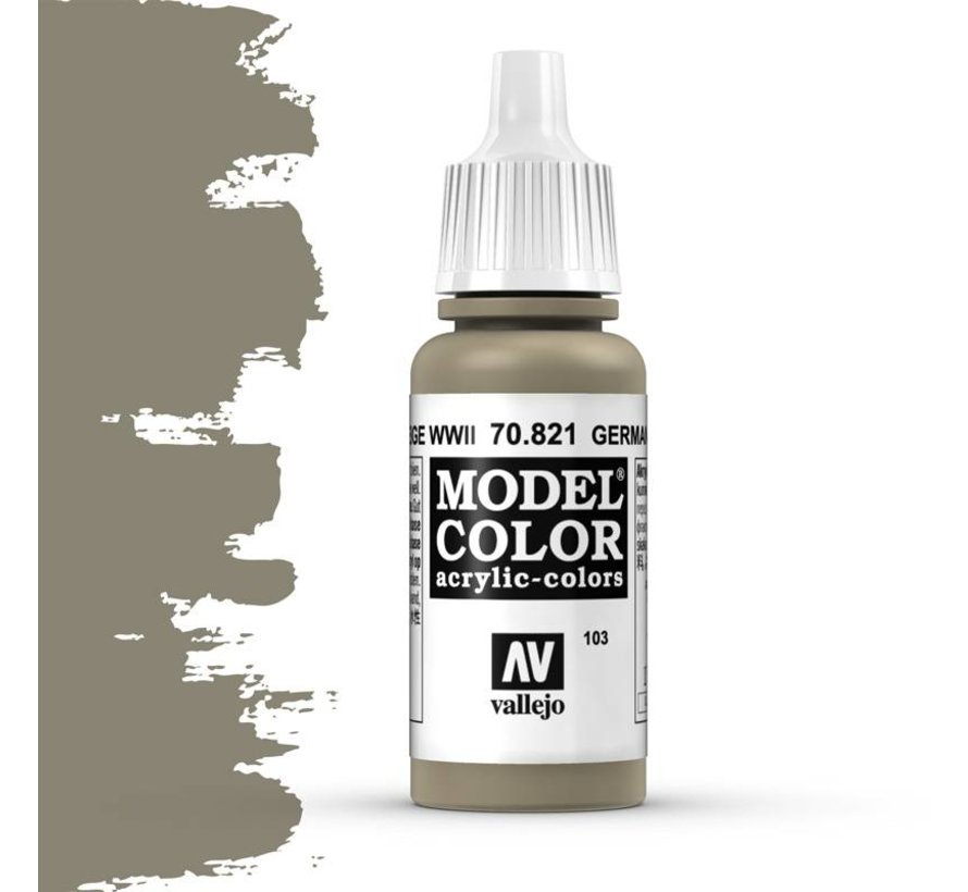 Model Color German Camouflage Beige -17ml -70821