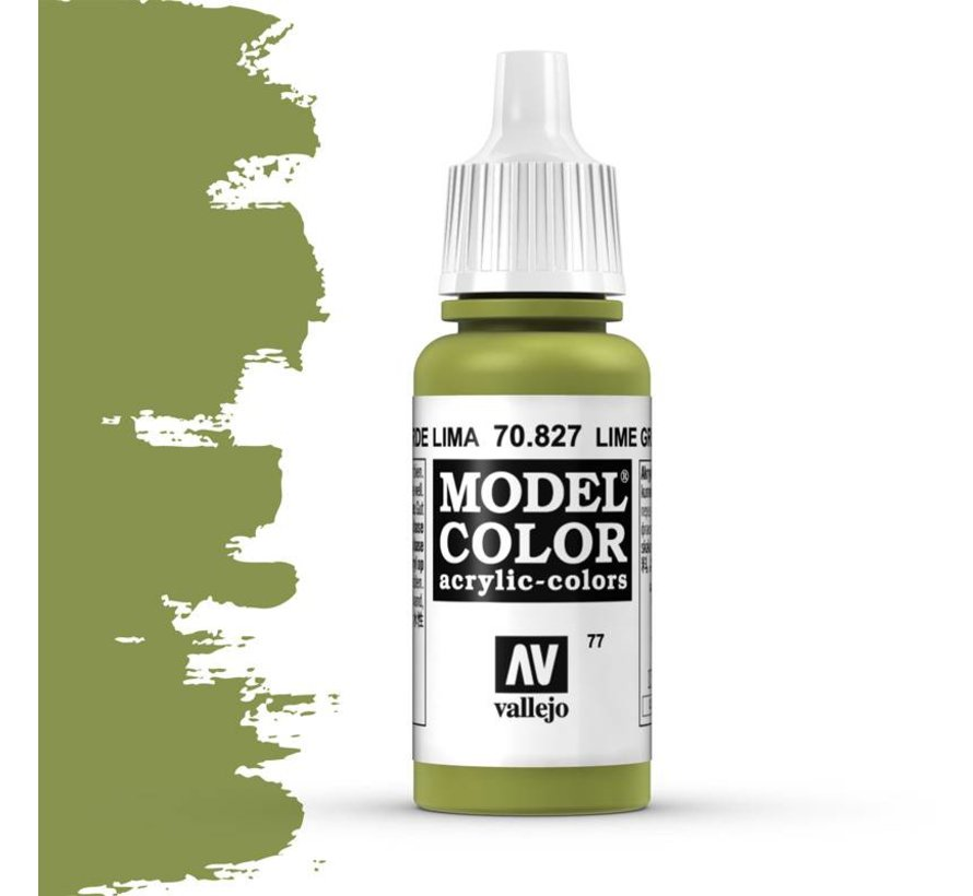 Model Color Lime Green -17ml -70827