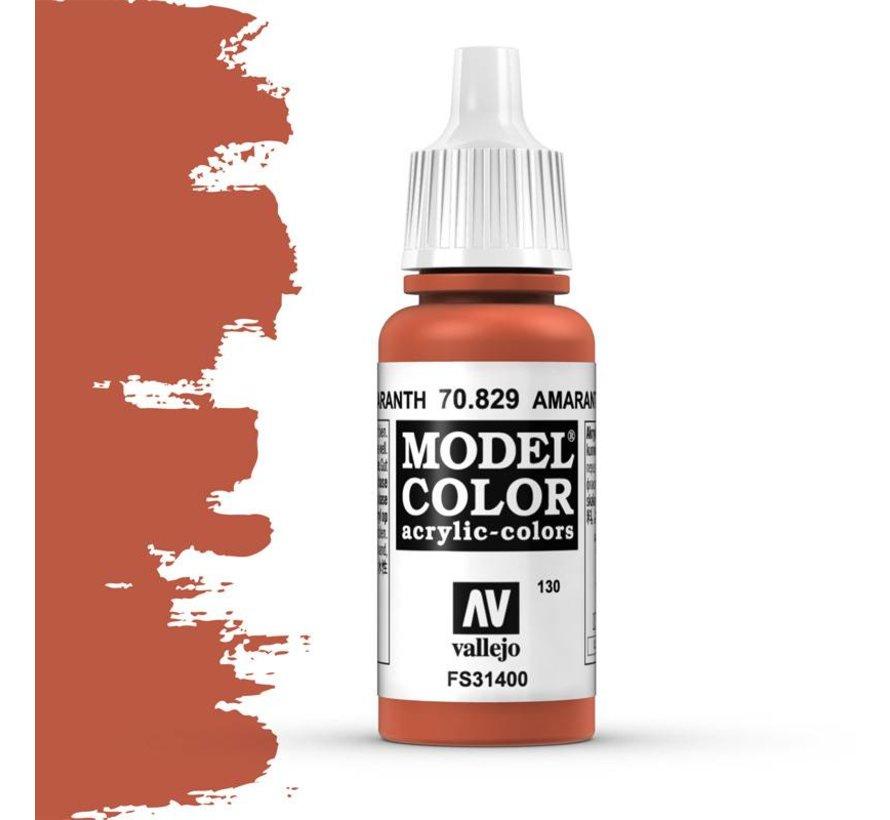 Model Color Amarantha Red -17ml -70829